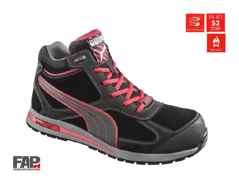Puma Montantes Sécurité Chaussures Fulltwist Taille41 Safety De S3 vNOm0w8n
