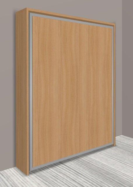 armoire lit escamotable cronos cerisier couchage 140 22 200 cm. Black Bedroom Furniture Sets. Home Design Ideas