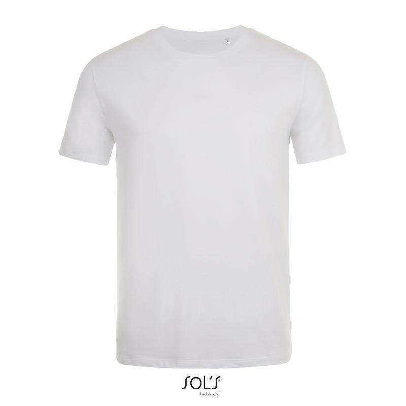 Tee-shirt col rond ajusté homme marvin - référence : jmncpa