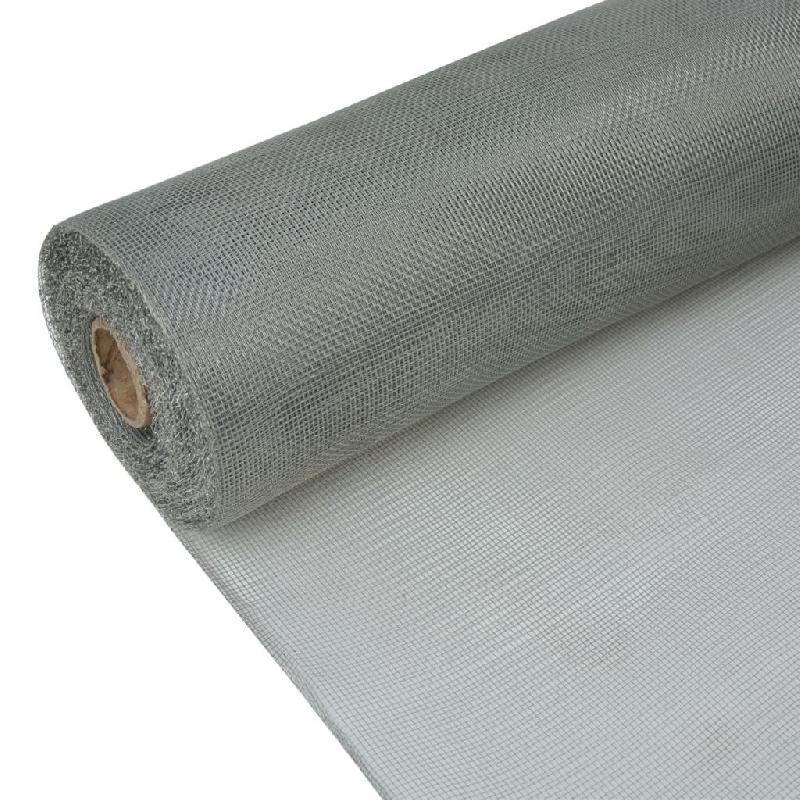Vidaxl filet fer galvanisé 100 x 1000 cm argenté