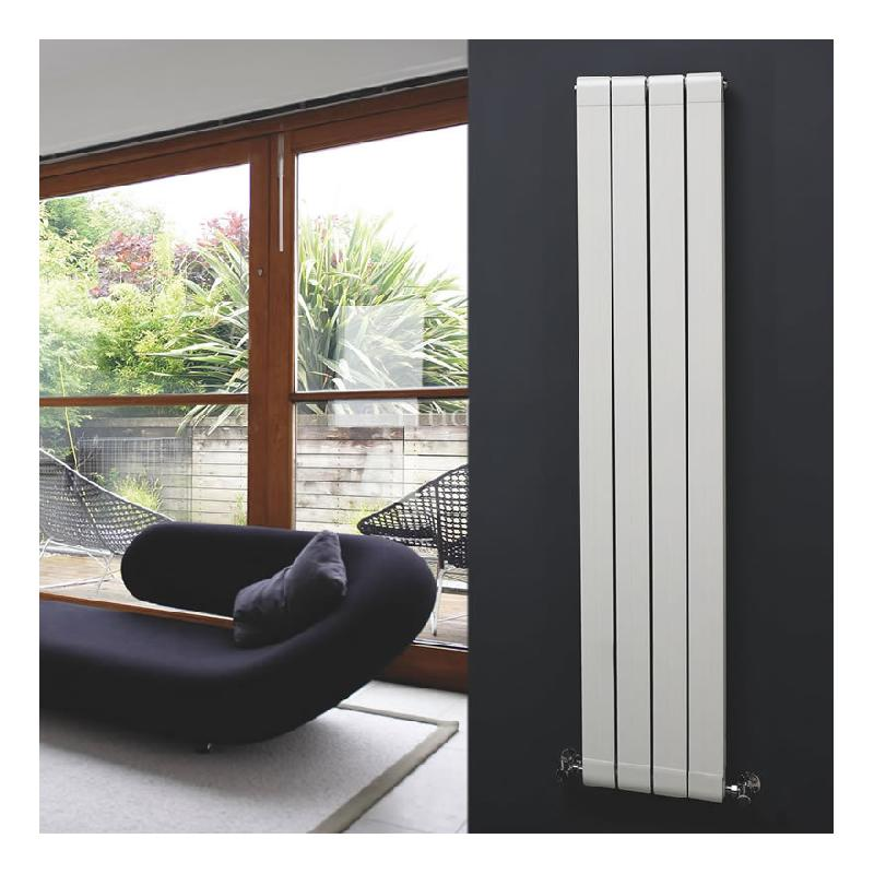 radiateur aluminium design blanc 1600x316mm 1520 watts hudson reed comparer les prix de. Black Bedroom Furniture Sets. Home Design Ideas