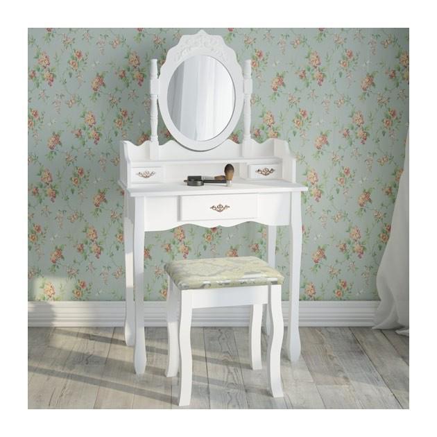 coiffeuses comparez les prix pour professionnels sur. Black Bedroom Furniture Sets. Home Design Ideas