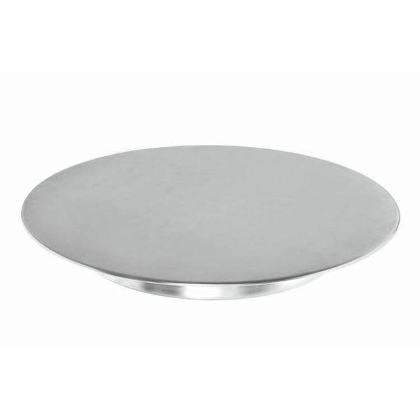 Plat a gateau inox anneau for Plat professionnel inox