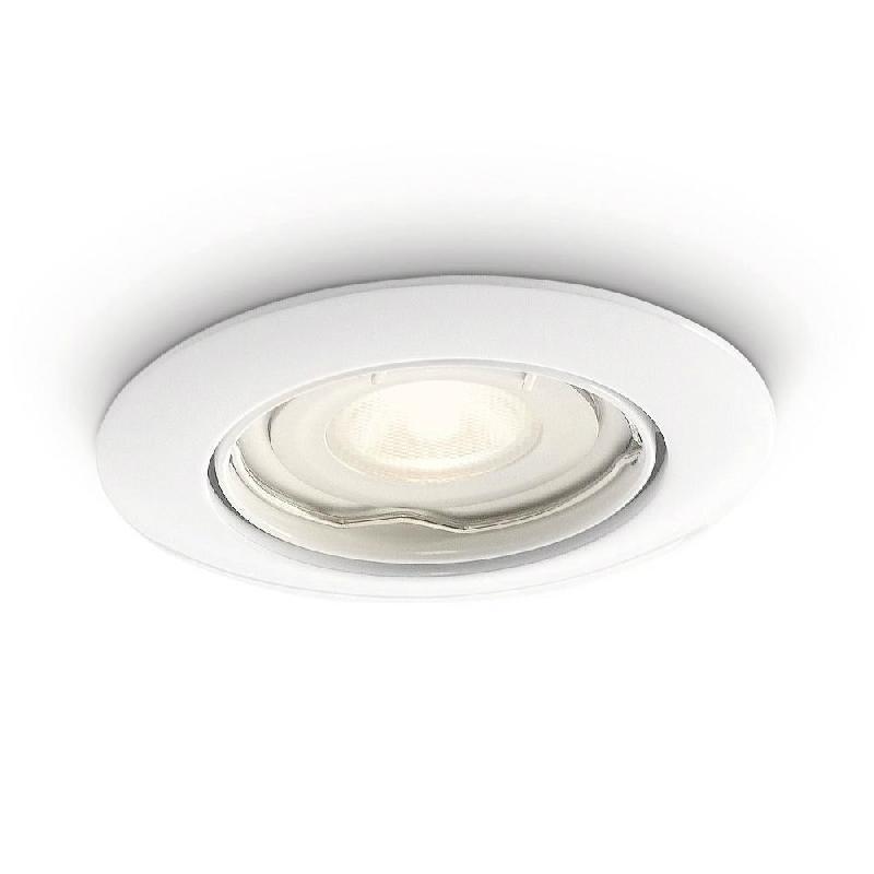 SMARTSPOT - SPOT ENCASTRABLE LED DE SALLE DE BAIN BLANC Ø8,4CM - SPOT PHILIPS DESIGNÉ PAR