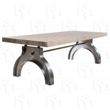 table a manger avec hauteur reglable t 1100. Black Bedroom Furniture Sets. Home Design Ideas