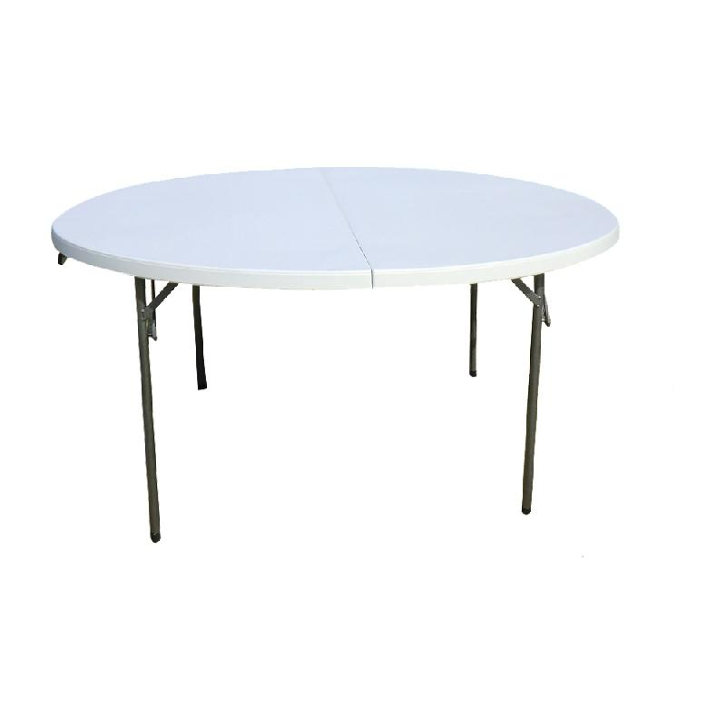 Table de jardin ronde pliable des id es for Table jardin metal ronde pliante