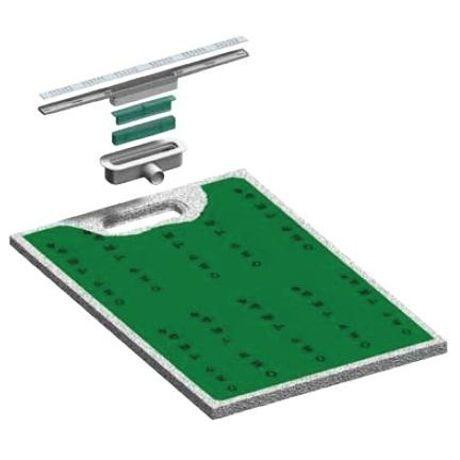 Receveurs de douches cps s lection achat vente de receveurs de douches cp - Receveur a carreler ecoulement lineaire ...