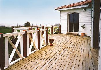 Terrasse en bois - Balustrade terrasse bois ...
