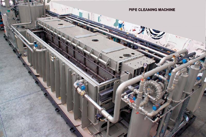 équipement pour le lavage des tubes et des composants spéciaux