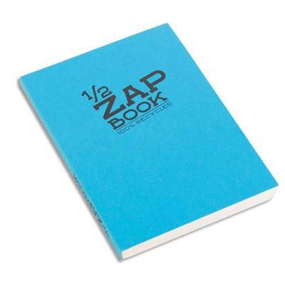 Un Bloc Notes agraf/é en-t/ête 100 Feuilles 60 g 7,4x10,5 cm petits carreaux Calligraphe 15357C couverture bleue