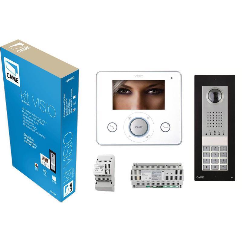 KIT VISIO 2 RELAIS INTERPHONE VIDÉO CAME 001CK008 - CAME