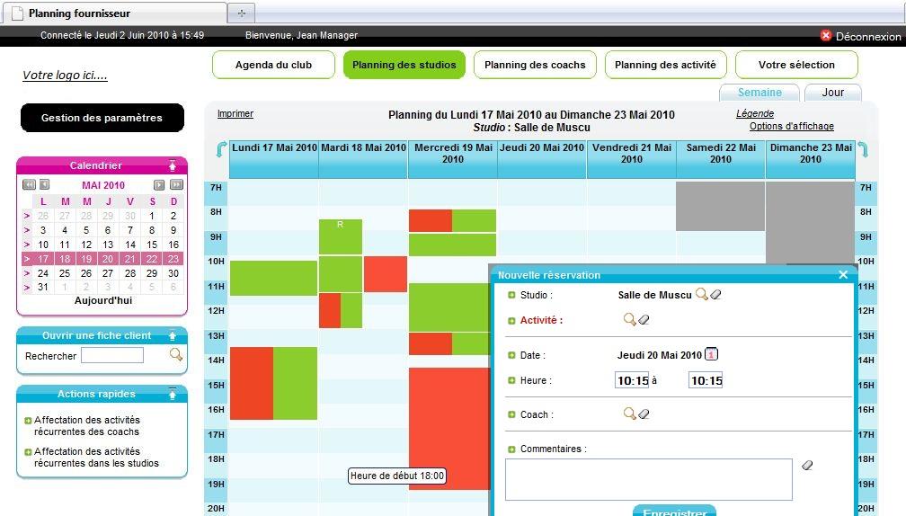 logiciel de gestion de reservations de salles de reunion gesroom
