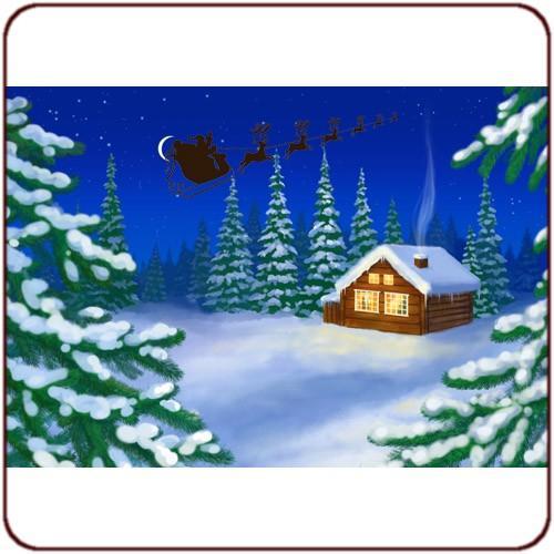 Poster Paysage Noël