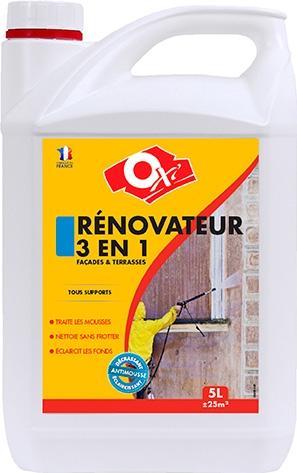 Rénovateur 3 en 1 -  traite les mousses, nettoie sans frotter