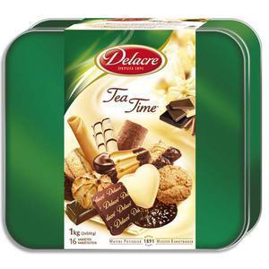 Dle b/1kg bisc delacre teatime 55015