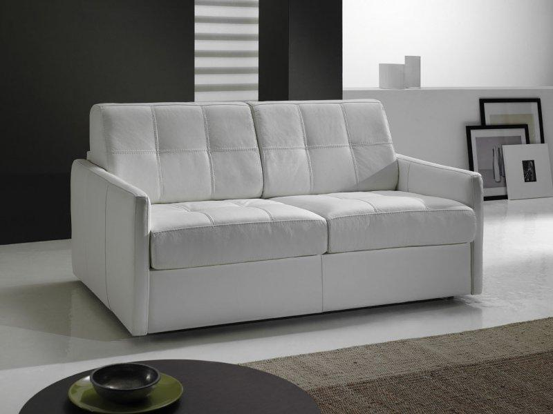 Canape lit couchage quotidien rapido for Canape transformable lit