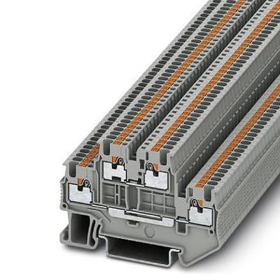 BLOC DE JONCTION À 2 ÉTAGES PHOENIX CONTACT PTTB 1,5/S 3208511 GRIS 50 PC(S)