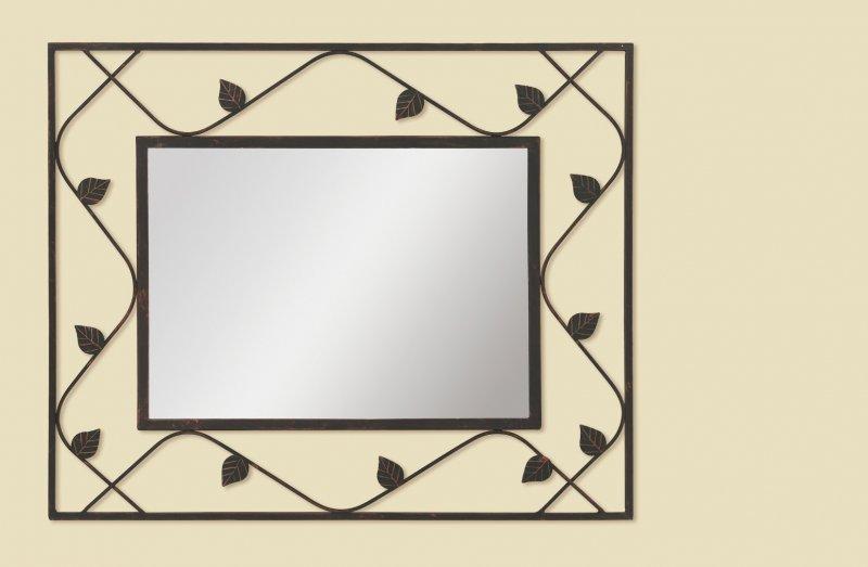 Good fellow miroir mural noir en verre for Miroir mural noir