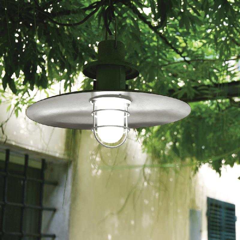 polo suspension d 39 ext rieur blanc 48cm luminaire d 39 ext rieur martinelli luce design par. Black Bedroom Furniture Sets. Home Design Ideas