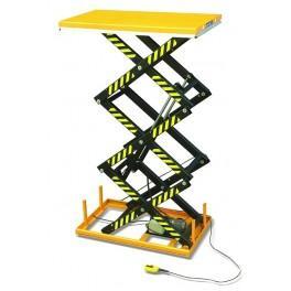 Table elevatrice fixe electrique a triples ciseaux for Table elevatrice a ciseaux