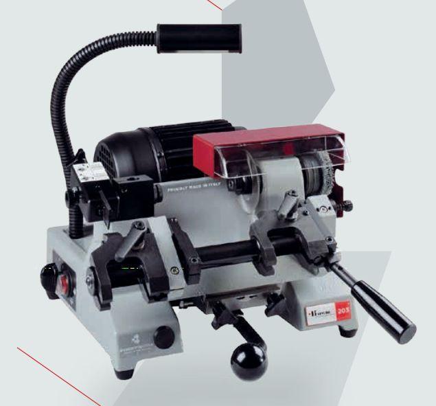 202 machine pour clés à panneton et à pompe - keyline s.p.a. - poids 32 kg