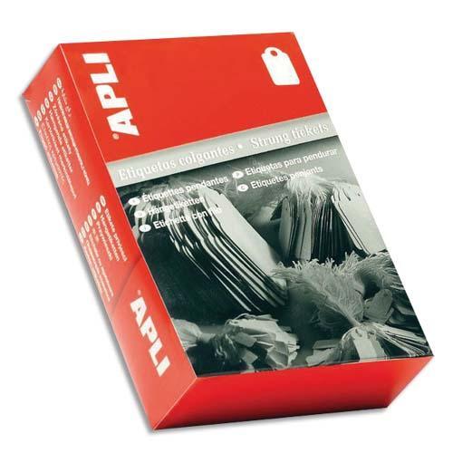 Agipa boîte de 1000 étiquettes bijouterie, format 18x29mm