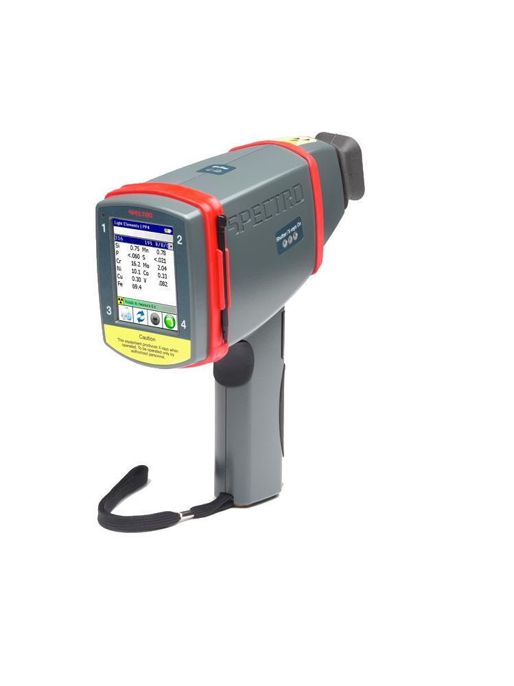 Analyseur portable de metaux precieux spectro xsort
