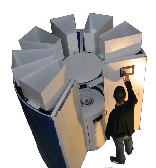 Machine à dosette coloria de couleur pour enduit de façade coloria