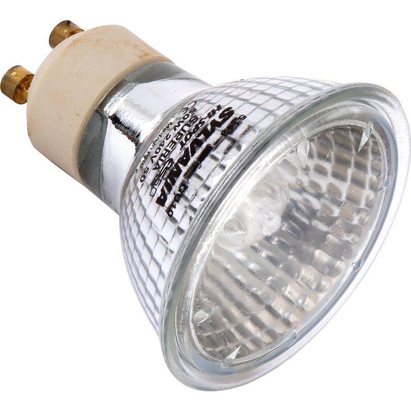 ampoule halog ne sylvania superia 220v gu10 35w 125lm 25deg comparer les prix de ampoule. Black Bedroom Furniture Sets. Home Design Ideas