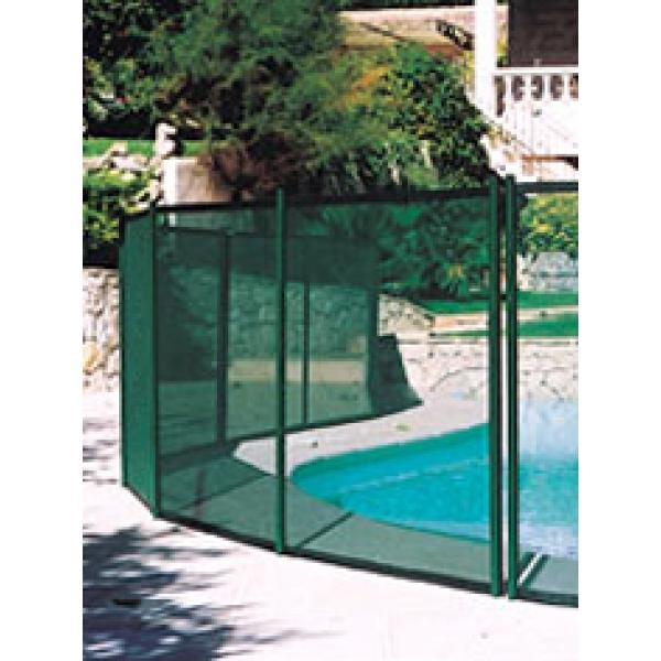 Cl ture piscine souple beethoven filet vert comparer les for Barriere piscine souple