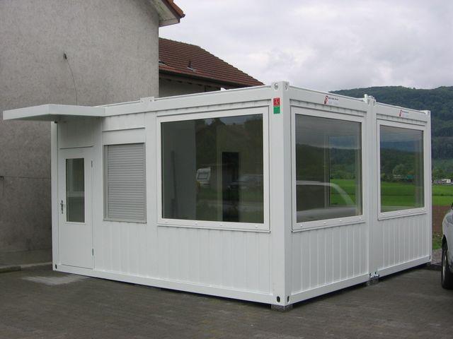 Containers amenages tous les fournisseurs conteneurs amenages containers bungalow - Container bureau occasion suisse ...