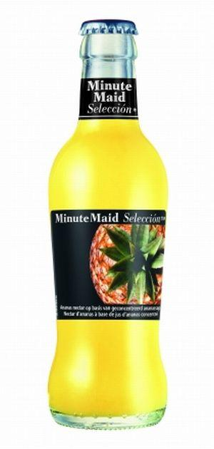 Jus d'ananas minute maid verre consigné 20cl x 24