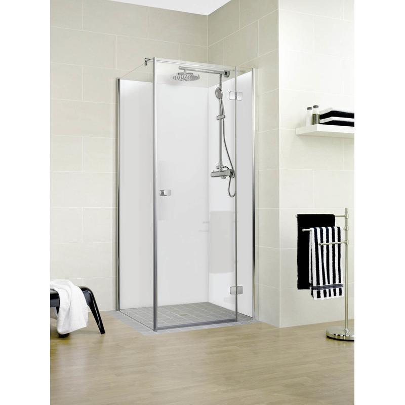 Lot de 2 panneaux muraux pour douche et salle de bains 90 for Panneaux muraux pour salle de bain