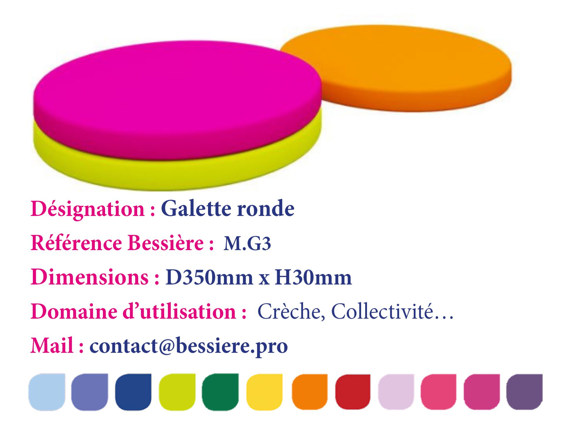 Galette ronde