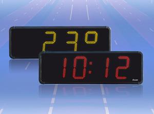 Horloge digitale led rouge - Horloge digitale murale led ...