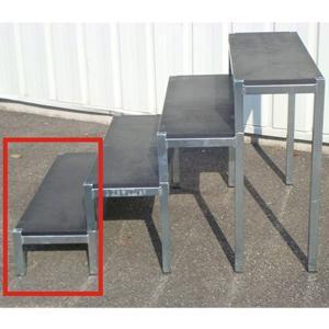 escalier 1 marche sans garde corps. Black Bedroom Furniture Sets. Home Design Ideas