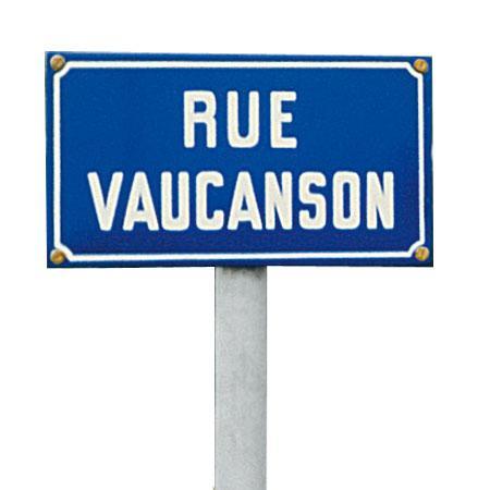 plaques de rue comparez les prix pour professionnels sur. Black Bedroom Furniture Sets. Home Design Ideas