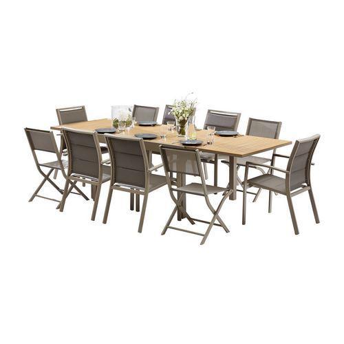 Table d 39 ext rieur en aluminium tous les fournisseurs de for Table exterieur 120x60