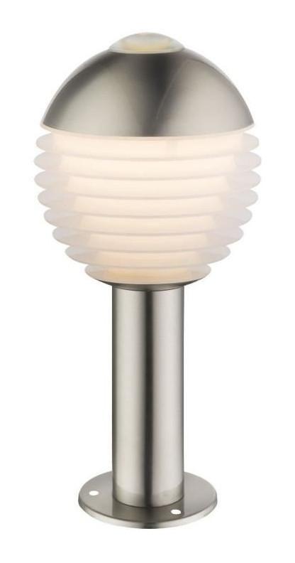 LAMPE SUR PIED EN ACIER INOXYDABLE, H 33 CM ALERIO - GLOBO