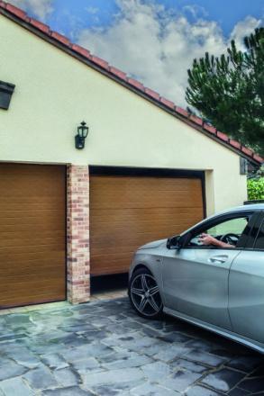 Porte de garage sectionnelle clermont - Fournisseur porte de garage sectionnelle ...