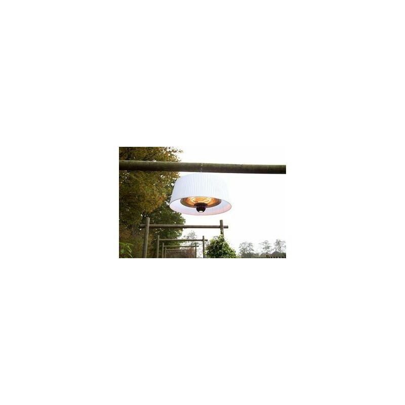 CHAUFFAGE INFRAROUGE LUSTRE 1800 W 6M2 BLANC