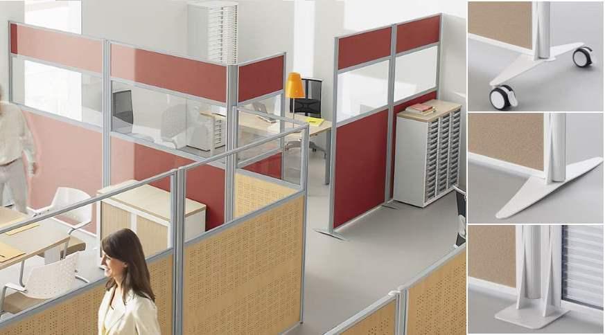 Cloisons de bureaux - tous les fournisseurs - séparation de ...