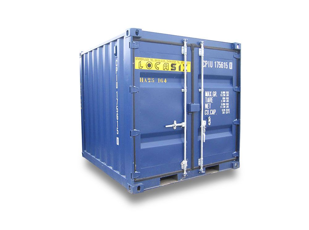 Container maritime 2 2 2 45m for Container maritime prix