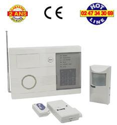 kit alarme sans fil avidsen 100513. Black Bedroom Furniture Sets. Home Design Ideas