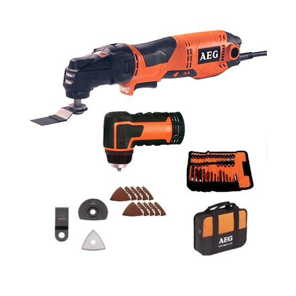 multitool aeg powertools omni 300kit4x filaire 300 w t te multifonction accessoires. Black Bedroom Furniture Sets. Home Design Ideas