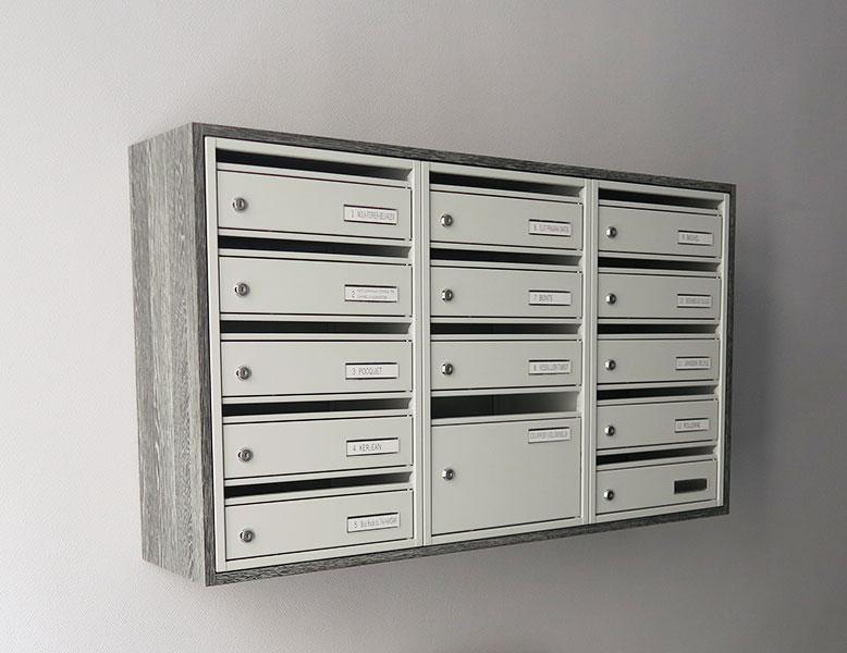 mercier produits de la categorie boites aux lettres. Black Bedroom Furniture Sets. Home Design Ideas