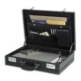 MASTERS ATTACHÉ CASE EN PVC NOIR