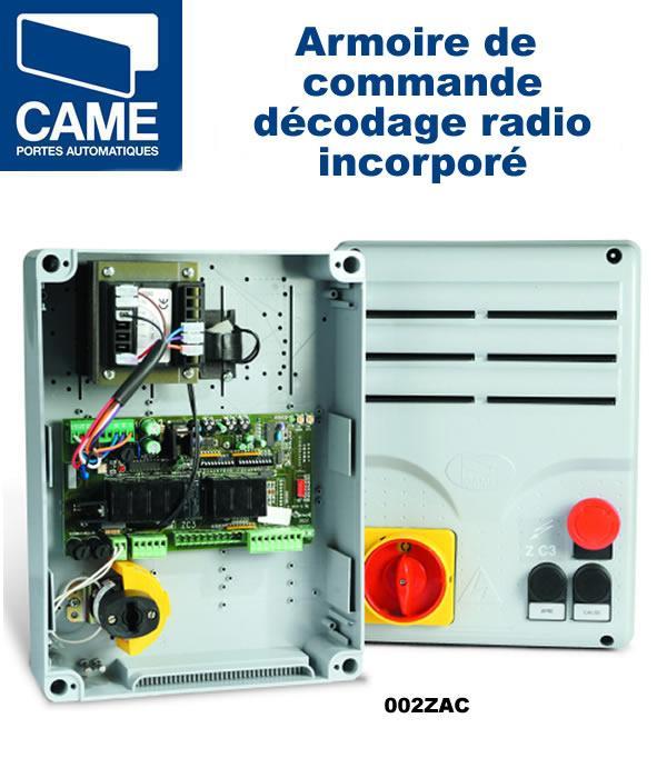 Logique de commande pour motorisation came 002za3c comparer les prix de logique de commande - Armoire de commande came ...