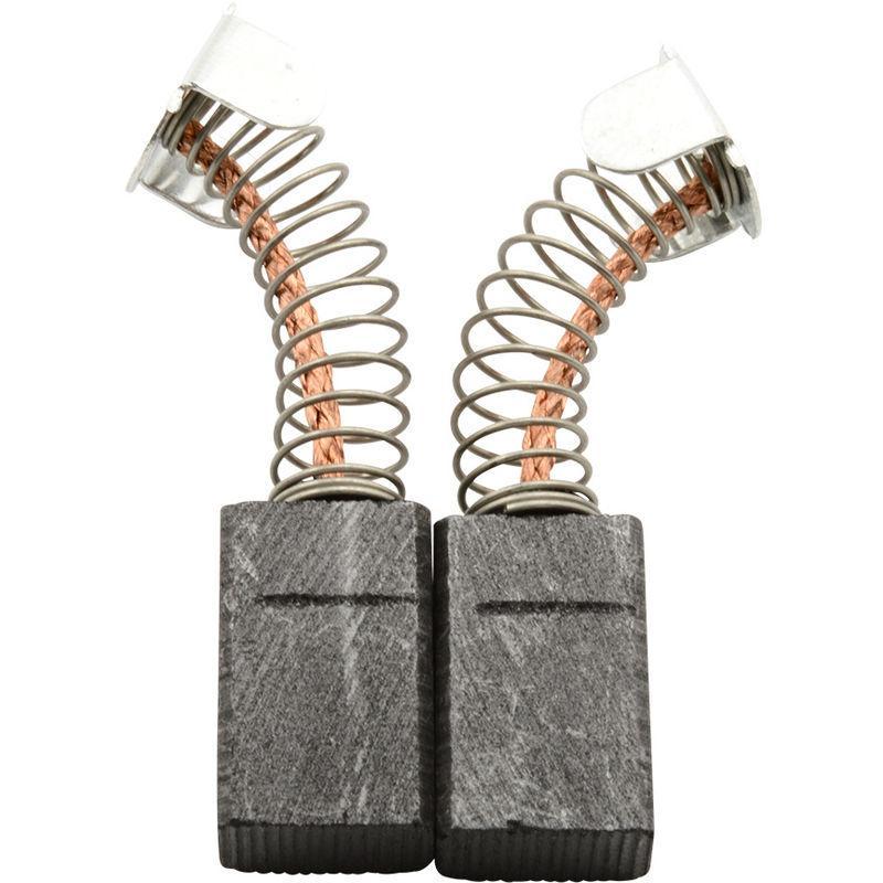 2.4x2.4x4.3 Balais de Charbon pour PEUGEOT L130 coupeuse//scie 6x6x11,5mm