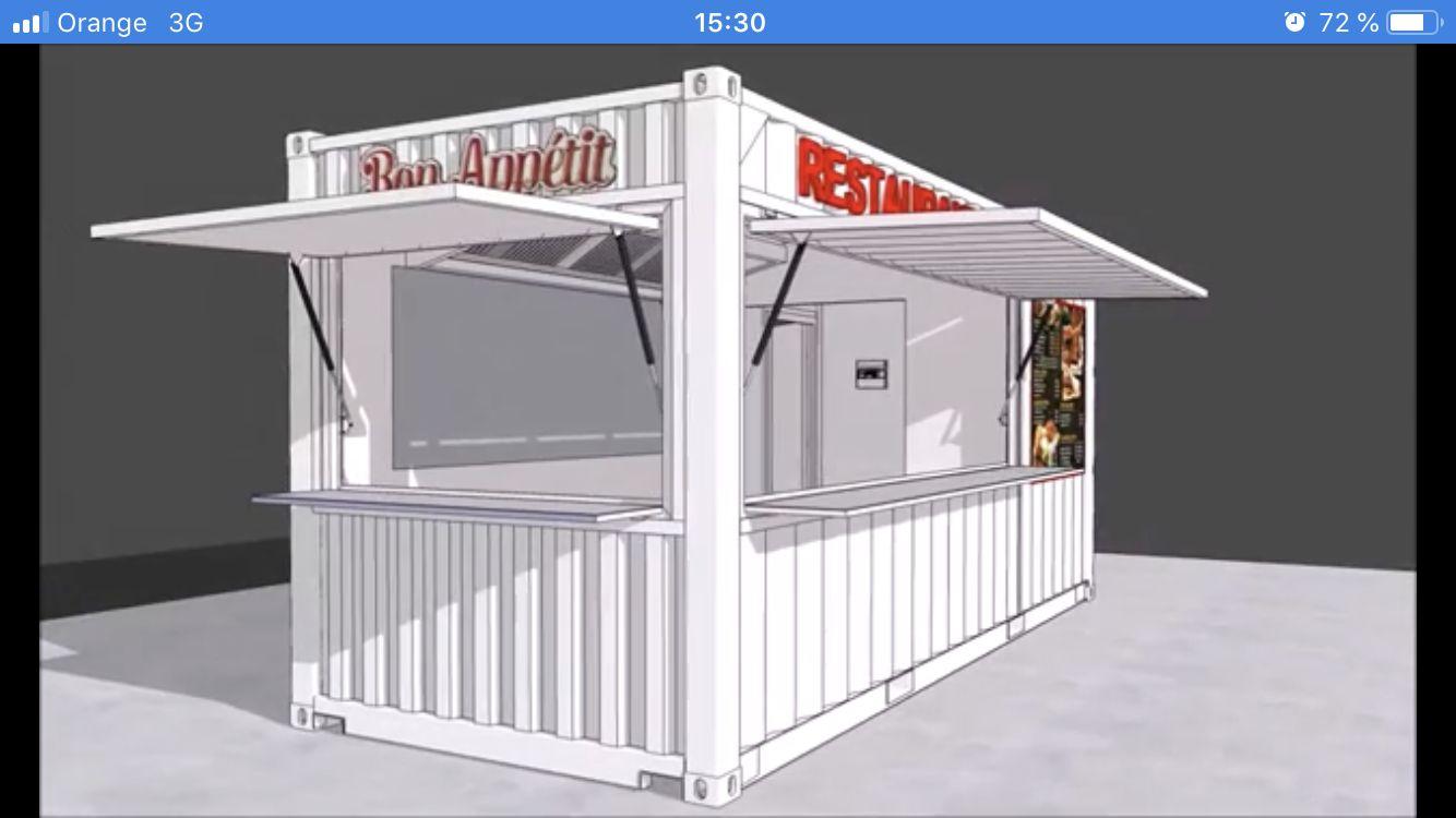 Container Aménagé Studio Prix conteneurs frigorifique isotherme 20 pieds 40 pieds